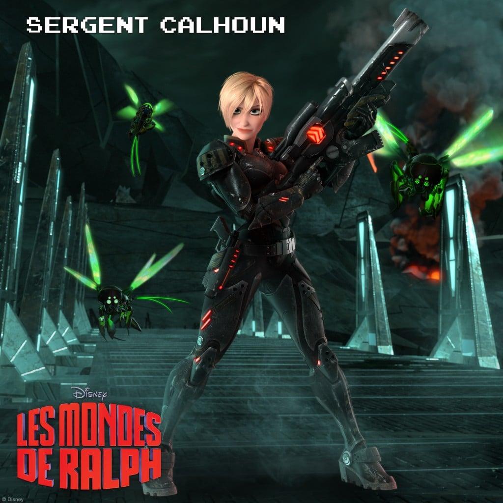 Sergent Calhoun : Une dure à cuire de l'espace