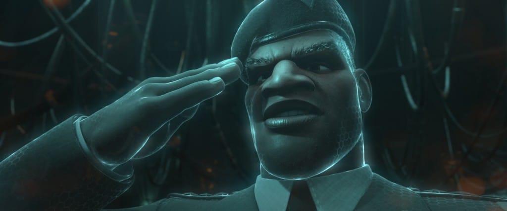 Le général Hologram : L'homme aux médailles