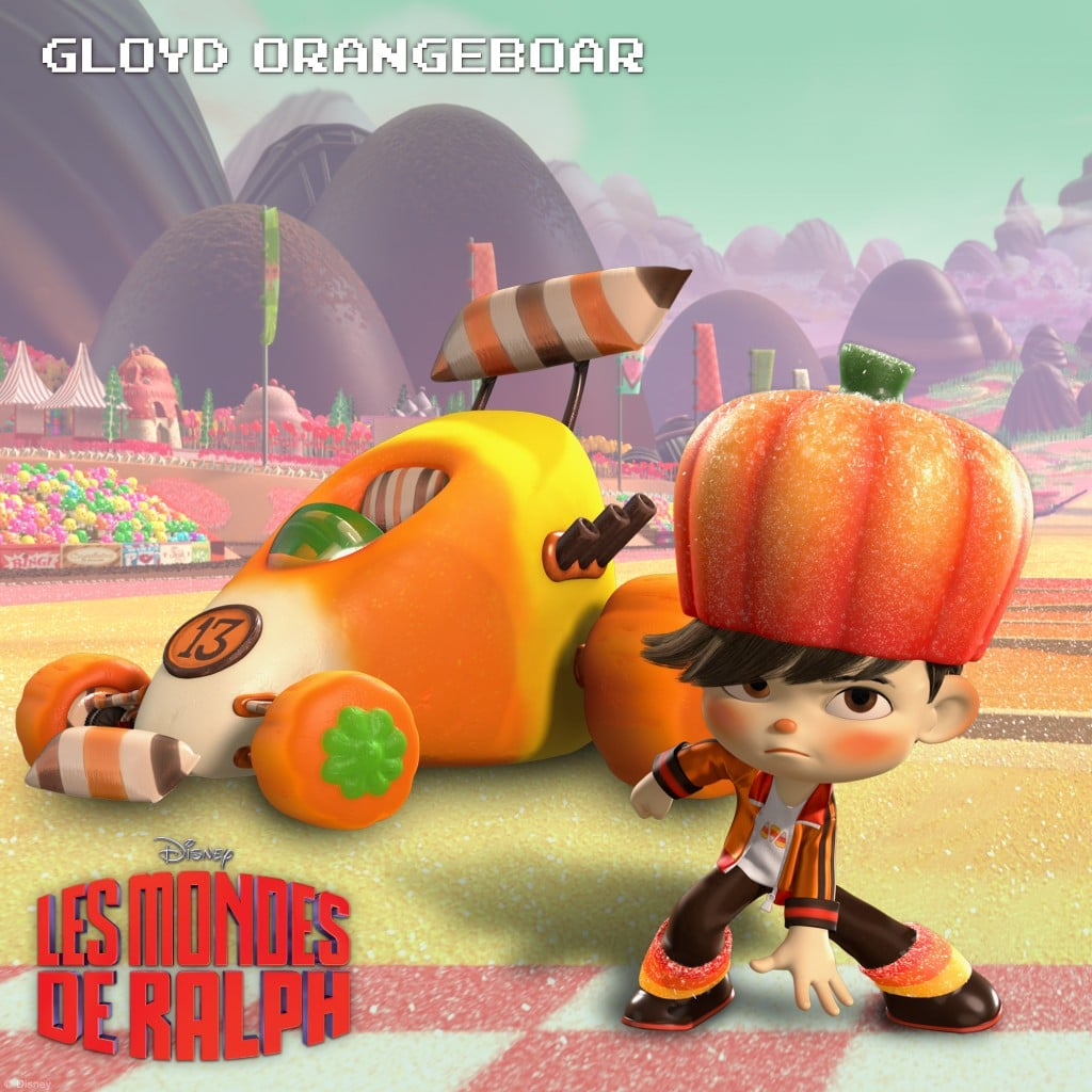 Gloyd Orangeboar : Un farceur amateur de sucreries
