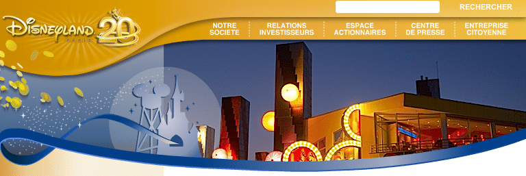 Site Club Actionnaire - Disney Village