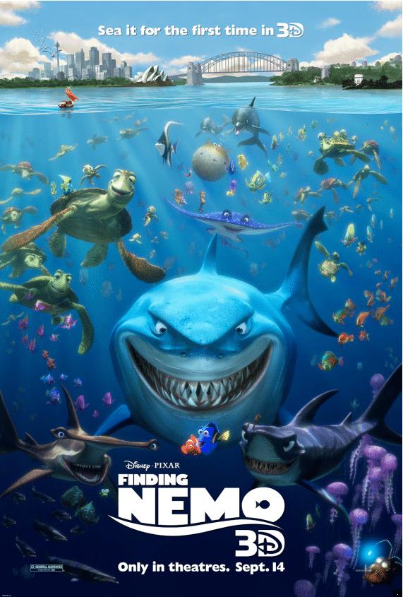 Le Monde de Nemo - Finding Nemo - 3D