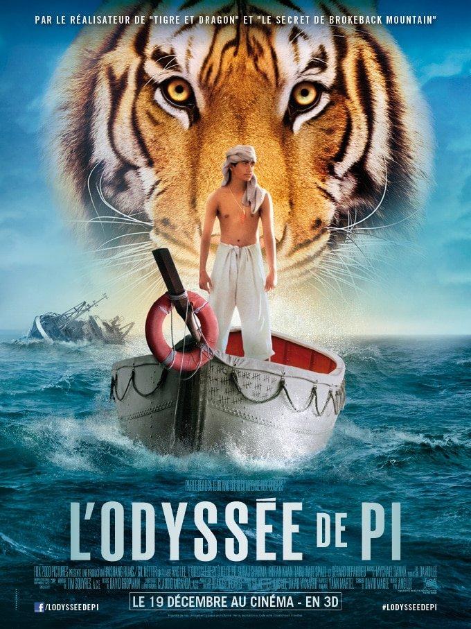 Affiche de lancement FR de L'Odyssée de Pi