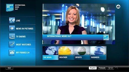 Après Euronews, FRANCE 24, RFI et Monte Carlo Doualiya se lancent sur GOOGLE TV. 1