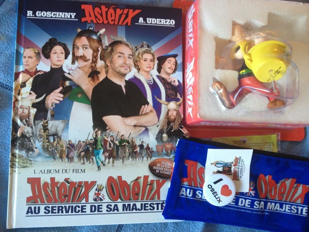 Asterix au service de sa majeste - Goodies
