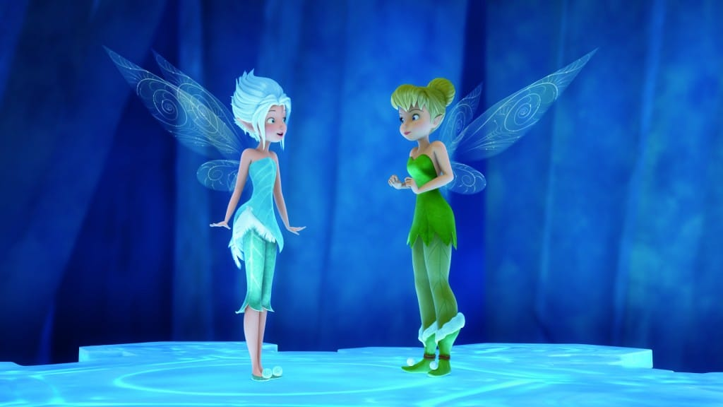 Secret Of The Wings..L to R: Periwinkle & Tinkerbell ..© 2012 Disney