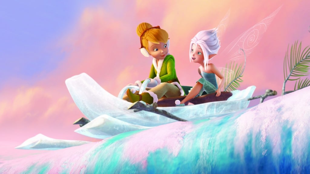 """""""Secret of the Wings""""..L-R Tinker Bell and Periwinkle"""