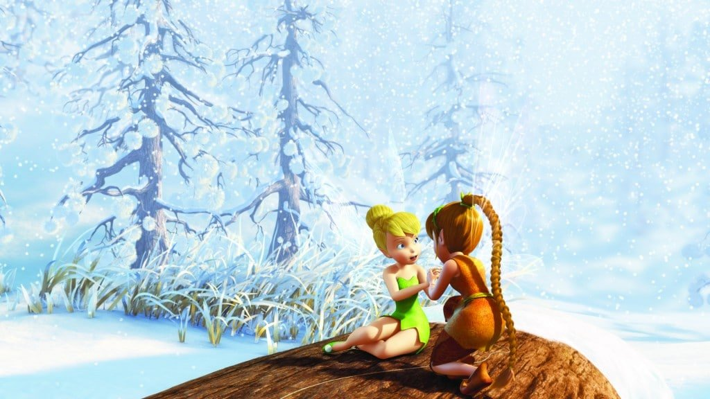 """""""Secret of the Wings""""..L-R Tinker Bell and Fawn"""