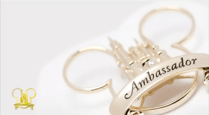 Emblème Disney Ambassadors