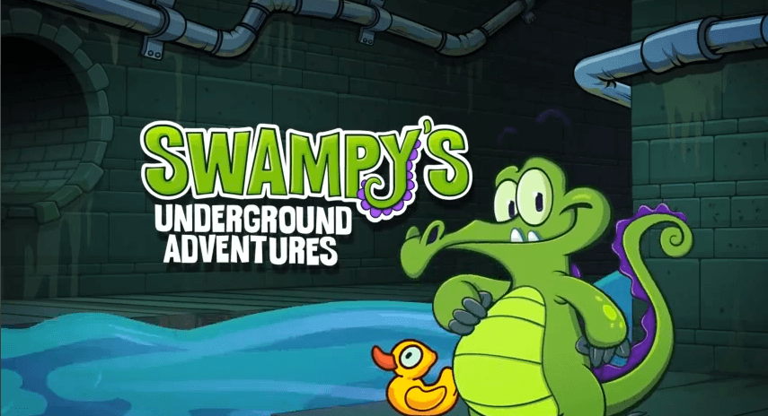 Swampy's Underground Adventures Ep 1 - Meet Swampy - Générique d'accueil