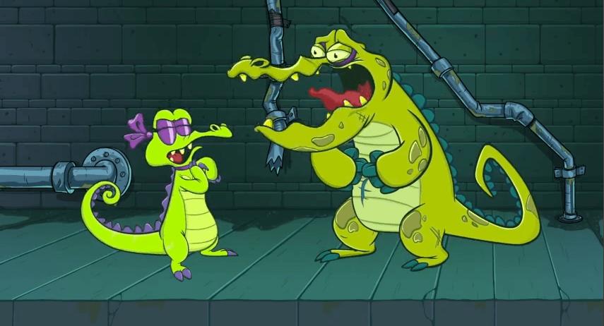 Swampy's Underground Adventures Ep 1 - Meet Swampy - Allie doit supporter Cranky