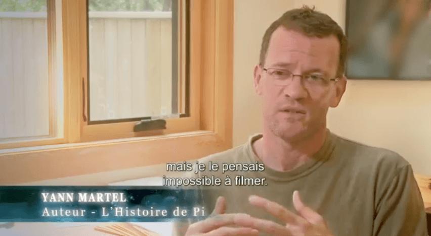 Yann Martel - Auteur de L'Histoire de Pi
