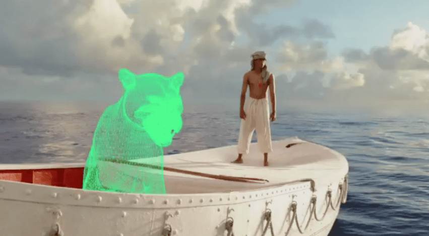 L'Odyssée de Pi - Création du Tigre