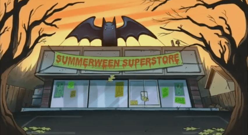 Summerween - Gravity Falls - Superstore