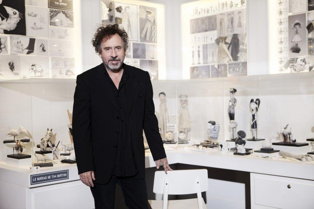 Tim Burton - Inauguration exposition Frankenweenie