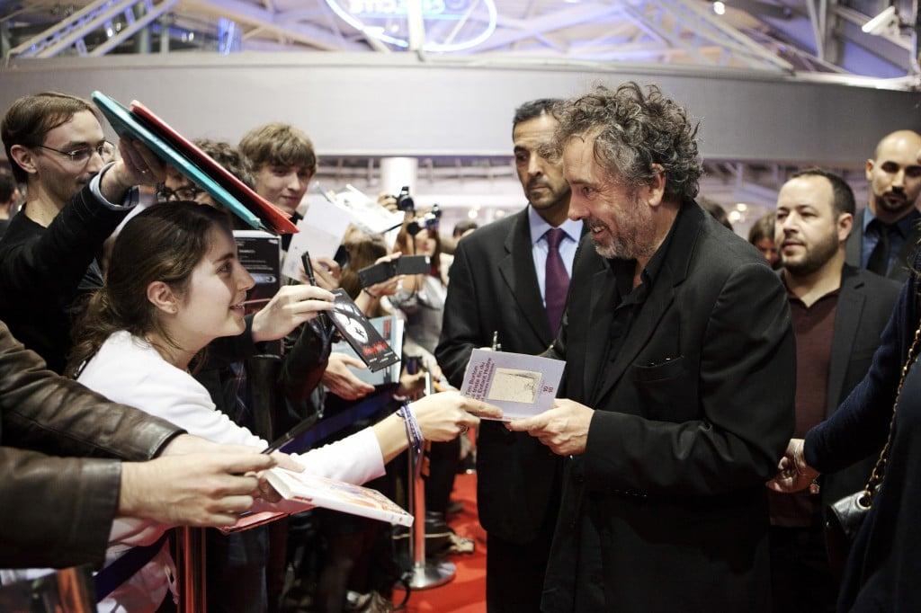 Tim Burton venu présenter FRANKENWEENIE
