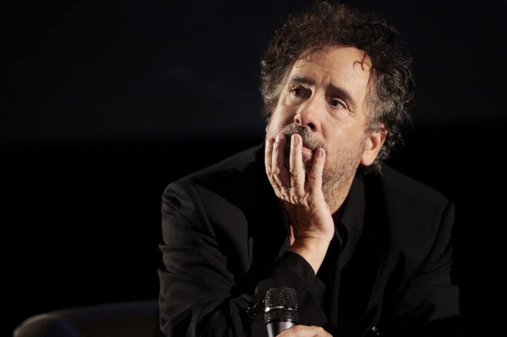 Tim Burton pendant la Masterclass