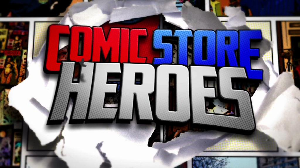 Comic store heroes - Logo - 1
