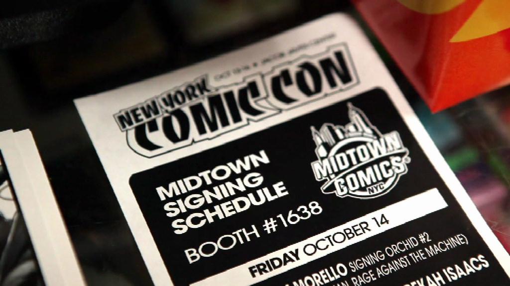 Comic store heroes - New York Comic Con - 2