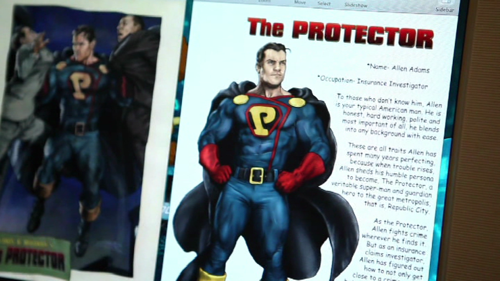 Comic store heroes - The Protector - 4