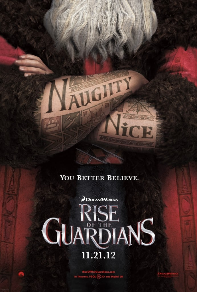 Rise of Guardians - Teaser Poster