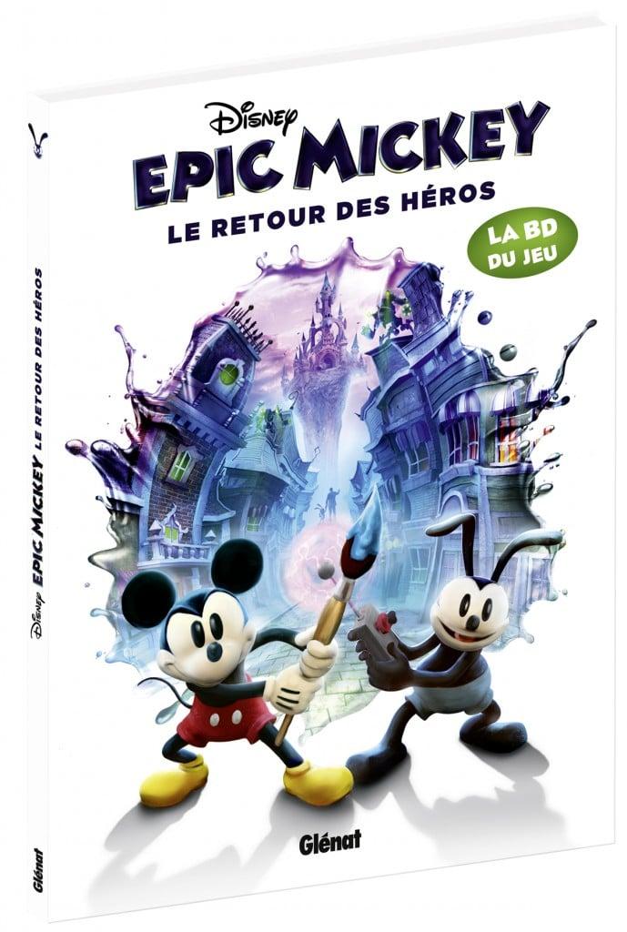 BD Glenat Epic Mickey