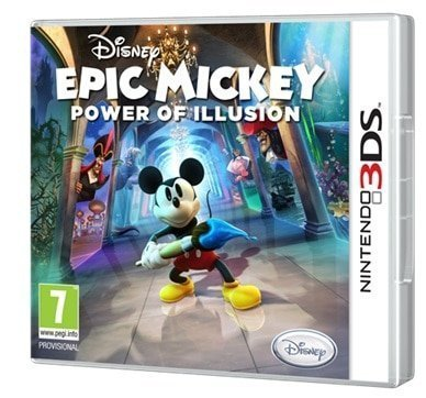 Boîtier Epic Mickey : Power of Illusion sur 3DS