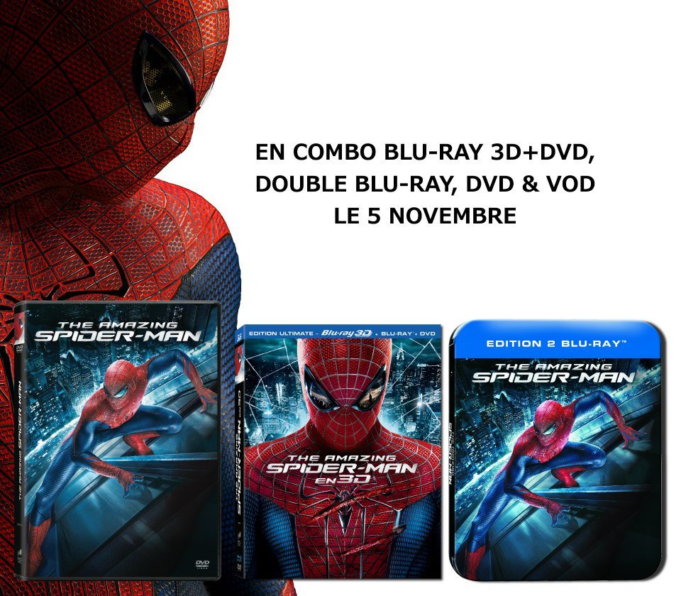 Editions DVD BRD Amazing Spiderman