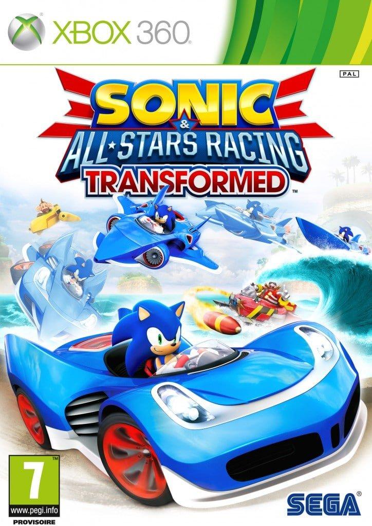 Boîtier Sonic All Stars Racing Transformed