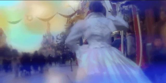 Amélie Bourgeois-Dagues – Disneyland Paris - Qu'elle est une princesse