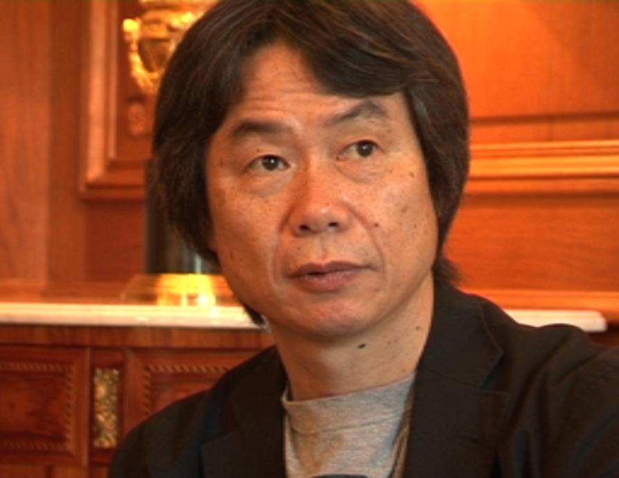 Shigeru mIYAmOTO, créateur de Mario