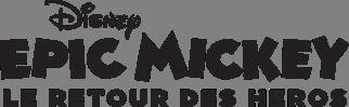 Logo Epic Mickey Le Retour des Héros