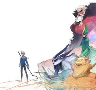 Les Cinq Légendes de Dreamworks s'invitent à la Galerie Arludik du 14 novembre au 8 décembre 2012 1