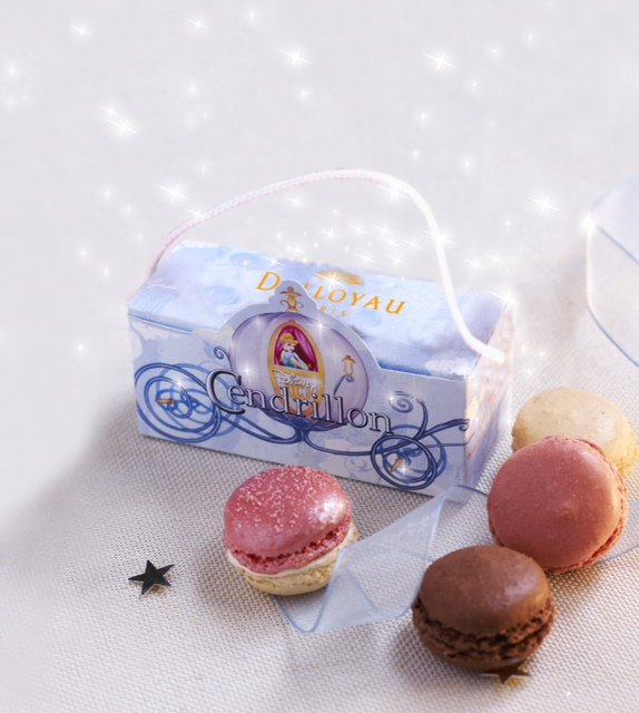 Galeries Lafayette - Disney - Noël 2012 - Les macarons