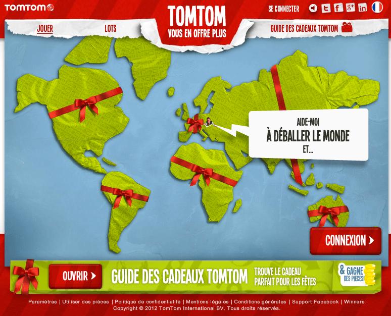 TomTom - Aide moi à déballer le monde