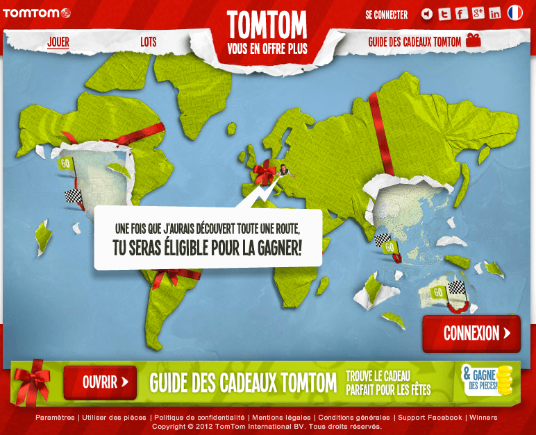 TomTom - Une fois que j'aurais découvert toute une route