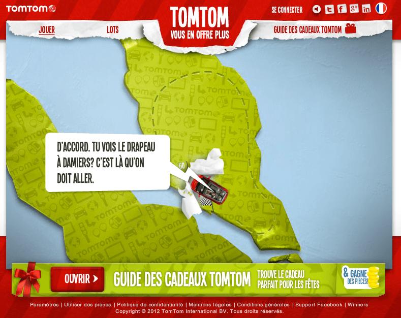TomTom - Tu vois le drapeau à damiers