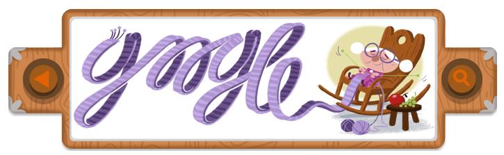 Google Doodle 20 12 2012 - Frères Grimm - Petit Chaperon Rouge