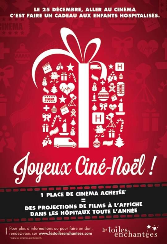 Le jour de Noël, ce sera la troisième édition de l'opération Joyeux Ciné-Noël