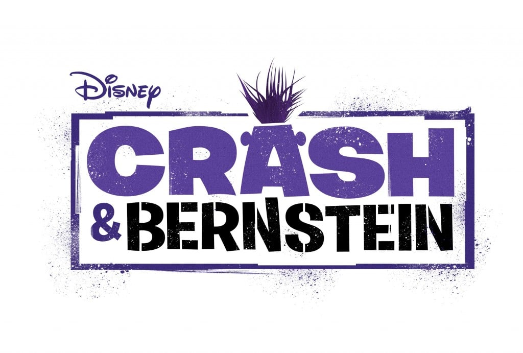 Crash and Bernstein Disney XD Logo