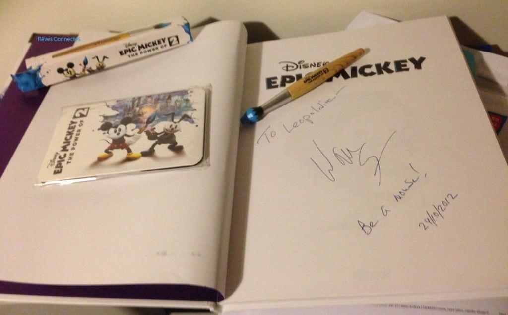 Epic Mickey 2 - La BD et la dédicace - 0279