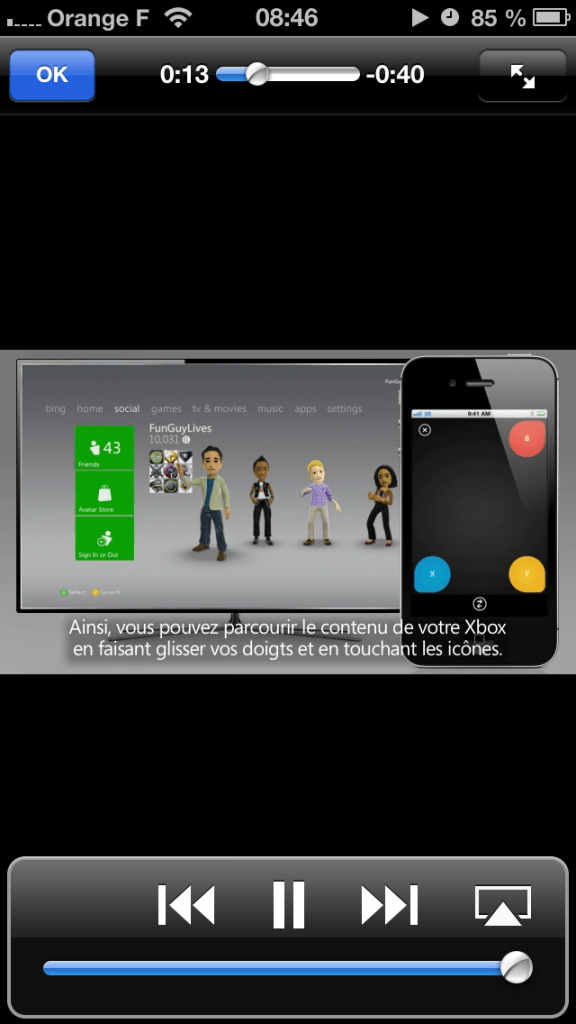 Xbox SmartGlass iPhone - 4741