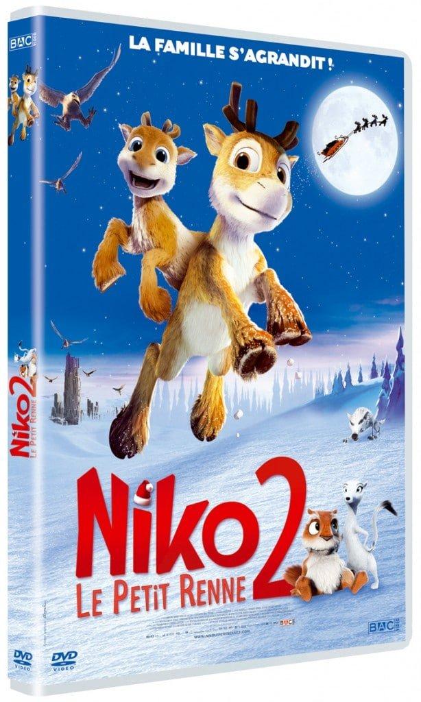 NIKO Le Petit Renne 2 - NIKO 2_DVD 3D