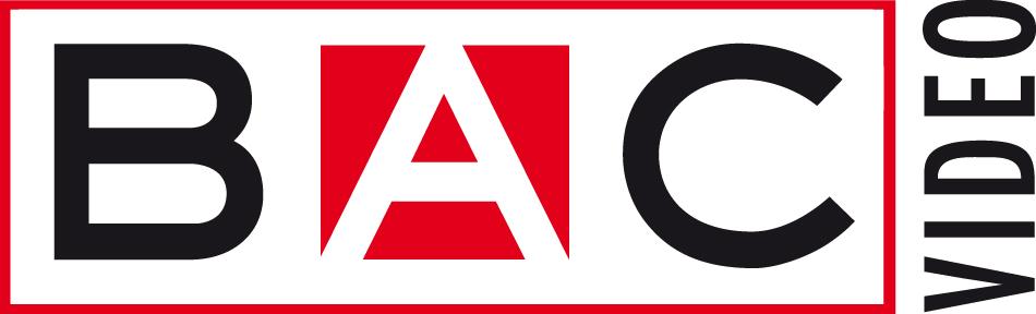 logo BAC video noir