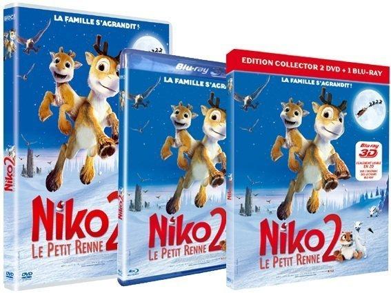 NIKO Le Petit Renne 2 - nikoDVD3D