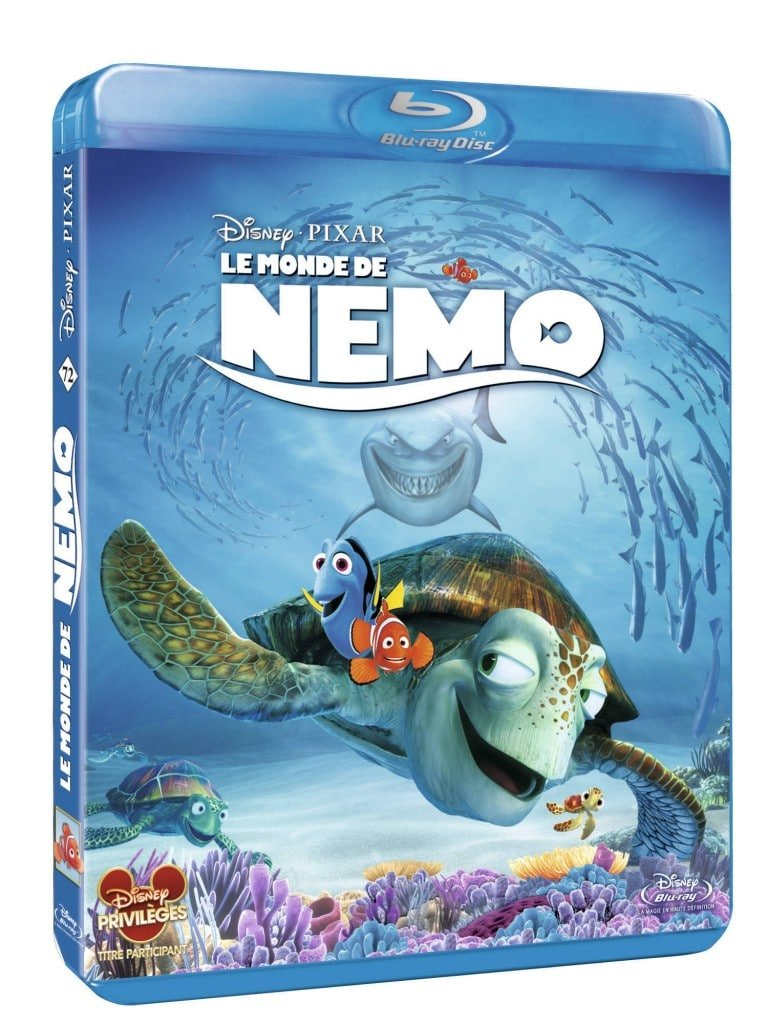 Blu-Ray Le Monde de Nemo