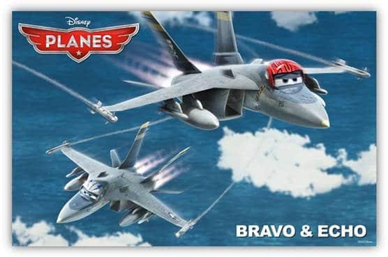 Disney Planes - Bravo and Echo