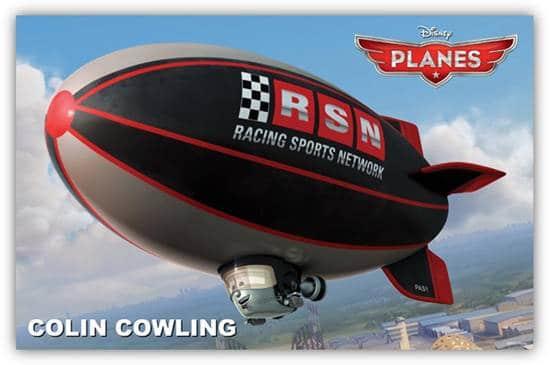 Disney Planes - Colin Cowling