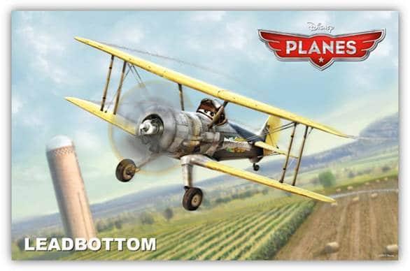 Disney Planes - Leadbottom