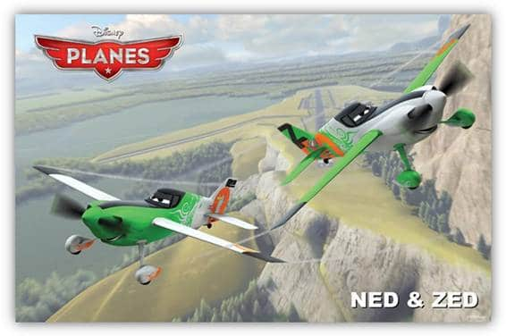 Disney Planes - Ned and Zed