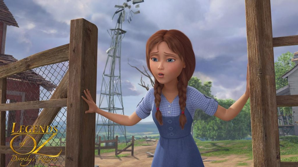 Legends of Oz - Dorothy Returns - DorothyFarmFence